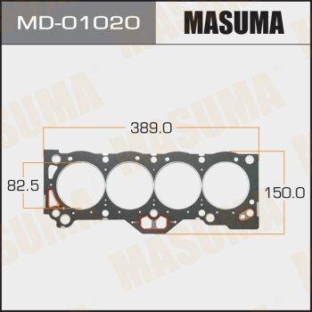 """Прокладка Голов.блока """"Masuma""""  4A-GE  (1/10)"""
