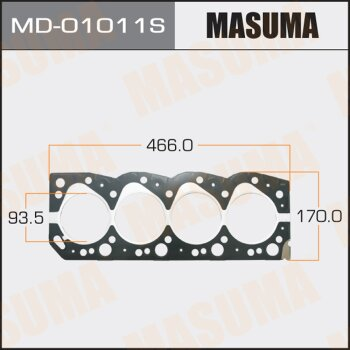 "Прокладка Голов.блока ""Masuma""  2L-T  (1/10)"