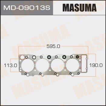 "Прокладка Голов.блока ""Masuma""  4HF1  (1/10)"