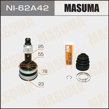 ШРУС MASUMA 23x55x25x42 NI-62A42
