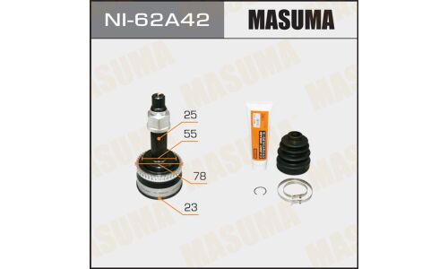 "ШРУС  ""Masuma""  23x55x25x42  (1/6)"
