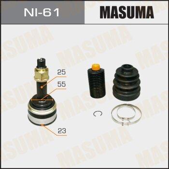 ШРУС MASUMA 23x55x25 NI-61