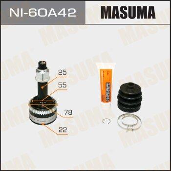 ШРУС MASUMA 22x55x25x42 NI-60A42