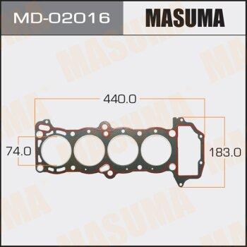 """Прокладка Голов.блока """"Masuma""""  GA13DE  (1/10)"""