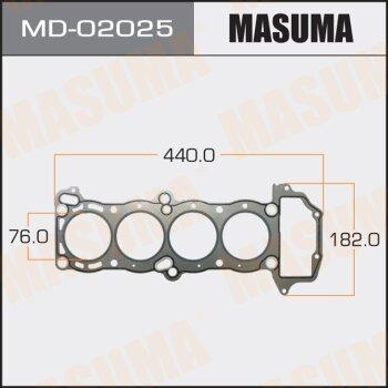 """Прокладка Голов.блока """"Masuma""""  GA15DS  (1/10)"""