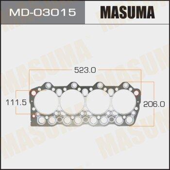 """Прокладка Голов.блока """"Masuma""""  4D35  (1/10)"""