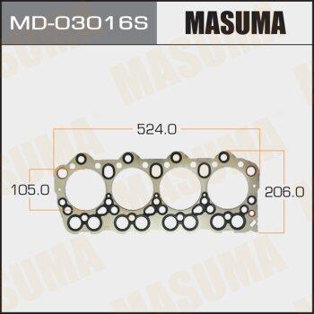 """Прокладка Голов.блока """"Masuma""""  4D36  (1/10)"""