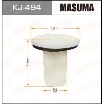 """Покер  пластм.крепежный  """"Masuma""""   494-KJ  (уп.50шт)"""