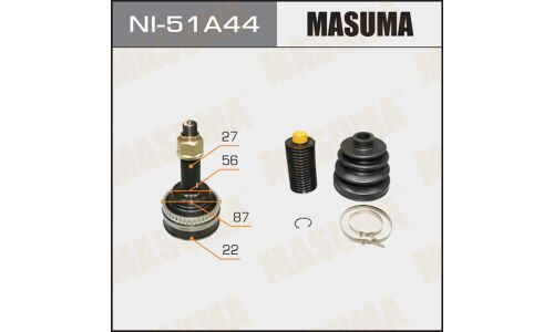 "ШРУС  ""Masuma""  22x56x27  (1/6)"