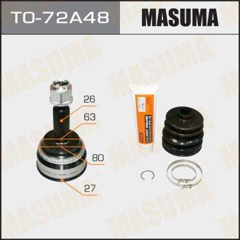 ШРУС MASUMA 27x63,3x26 TO-72A48