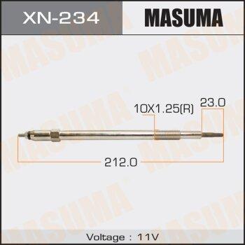 """Свеча накаливания """"Masuma""""   CP-73 /ZD30DDT    (1/10/100)"""