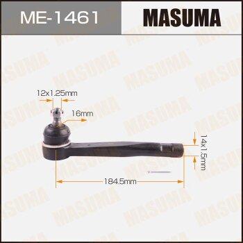 Наконечник рулевой тяги MASUMA ME-1461