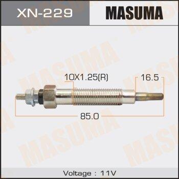 """Свеча накаливания """"Masuma""""   CP-03 /TD27, QD32     (1/10/100)"""