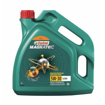 Масло моторное  Castrol Magnatec  5w30  SL/CF  синтетическое, универсальное  4л