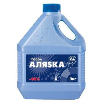 """Тосол  """"Аляска""""  А-40М   3кг  (1/4)"""