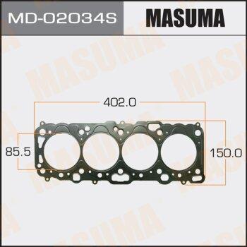 "Прокладка Голов.блока ""Masuma""  CD20T  (1/10)"