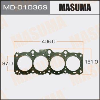 "Прокладка Голов.блока ""Masuma""  3S-FE (1/10)"