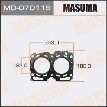 "Прокладка Голов.блока ""Masuma""  EJ20  (1/10)"