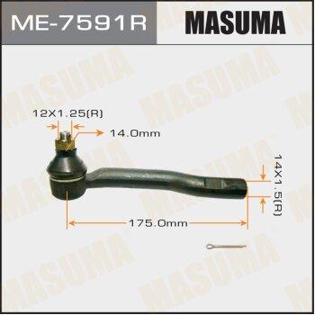 Наконечник рулевой тяги MASUMA ME-7591R