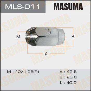 "Фасовка Гайка ""Masuma""  12x1.25"