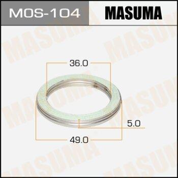 """Фасовка Упл.кольцо под вых.коллект.""""""""Masuma""""""""  36х49,   уп.2шт"""