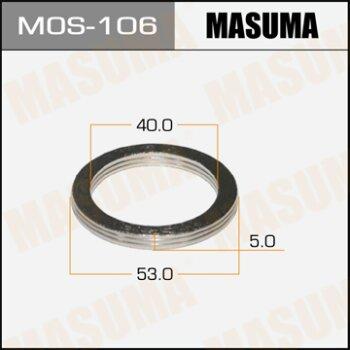 """Фасовка Упл.кольцо под вых.коллект.""""""""Masuma""""""""  40х53,   уп.2шт"""