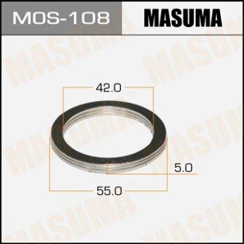 """Фасовка Упл.кольцо под вых.коллект.""""""""Masuma""""""""  42х55,   уп.2шт"""