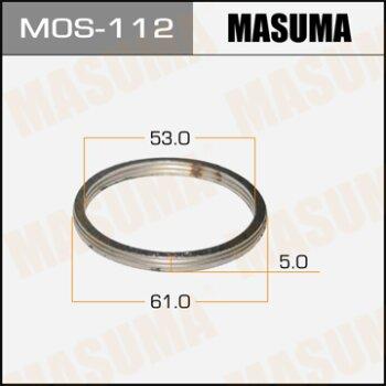 """Фасовка Упл.кольцо под вых.коллект.""""""""Masuma""""""""  53х61,   уп.2шт"""