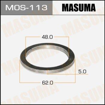 """Фасовка Упл.кольцо под вых.коллект.""""""""Masuma""""""""  48х62,   уп.2шт"""