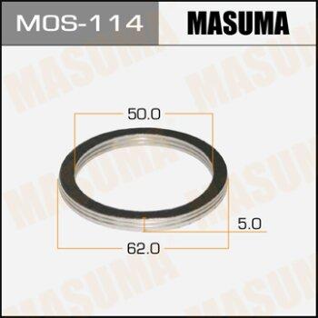 """Фасовка Упл.кольцо под вых.коллект.""""""""Masuma""""""""  50х62,   уп.2шт"""