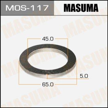 """Фасовка Упл.кольцо под вых.коллект.""""""""Masuma""""""""  45х65,   уп.2шт"""
