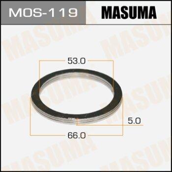 """Фасовка Упл.кольцо под вых.коллект.""""""""Masuma""""""""  53х66,   уп.2шт"""