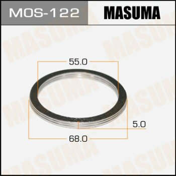 """Фасовка Упл.кольцо под вых.коллект.""""""""Masuma""""""""  55х68,   уп.2шт"""