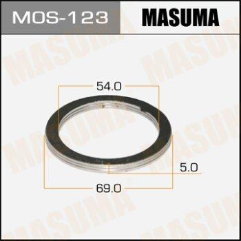 """Фасовка Упл.кольцо под вых.коллект.""""""""Masuma""""""""  54х69,   уп.2шт"""