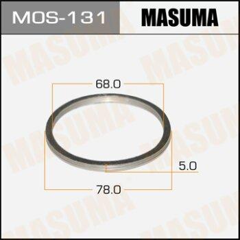 """Фасовка Упл.кольцо под вых.коллект.""""""""Masuma""""""""  68х78,   уп.2шт"""