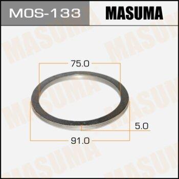 """Фасовка Упл.кольцо под вых.коллект.""""""""Masuma""""""""  75х91,   уп.2шт"""