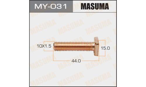 Фасовка Болты для контактов тяг.реле на стартер 'Masuma', уп.2шт