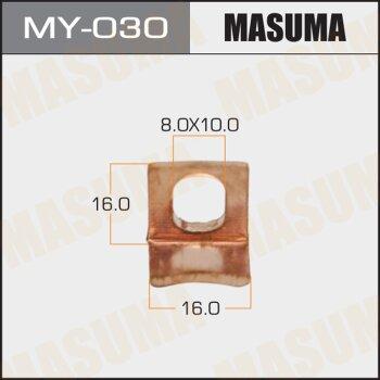 """Фасовка Контакт тяг.реле на стартер """"Masuma"""", уп.1шт (то же 26453)"""