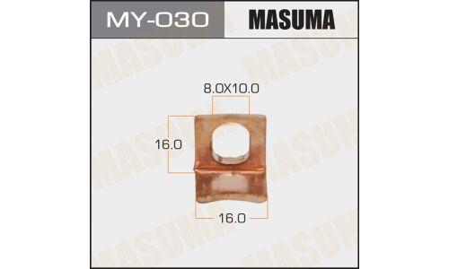 """Фасовка Контакт тяг.реле на стартер """"Masuma"""", уп.1шт (то же 26452)"""