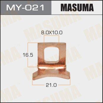 """Фасовка Контакт тяг.реле на стартер """"""""Masuma""""""""     3CTE,2C,3CE,2TZFZE,1KZTE,5L,1N,1NT,2LTE,1FZFE, уп.1"""