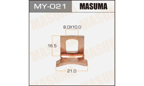 """Фасовка Контакт тяг.реле на стартер """"Masuma""""     3CTE,2C,3CE,2TZFZE,1KZTE,5L,1N,1NT,2LTE,1FZFE, уп.1"""