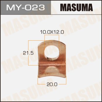 "Фасовка Контакт тяг.реле на стартер ""Masuma"" 20mm, большие     2LTE,1KZTE,5L,15B,1HDFTE,1KDFTV,3B,3,"