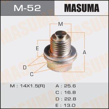 """Болт маслосливной с магнитом """"""""Masuma""""""""  Mitsubishi"""