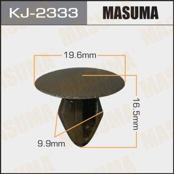 """Покер  пластм.крепежный  """"Masuma""""   2333-KJ  (уп.50шт)"""
