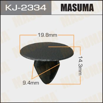 """Покер  пластм.крепежный  """"Masuma""""   2334-KJ  (уп.50шт)"""
