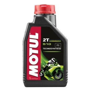 Масло для мотоциклов  MOTUL 510 2T полусинтетическое, 2-х тактное 1л