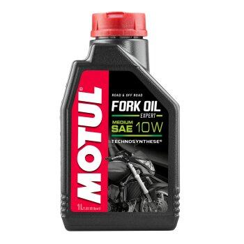 Масло вилочное  MOTUL Fork Oil Expert medium  10W минеральное  1л