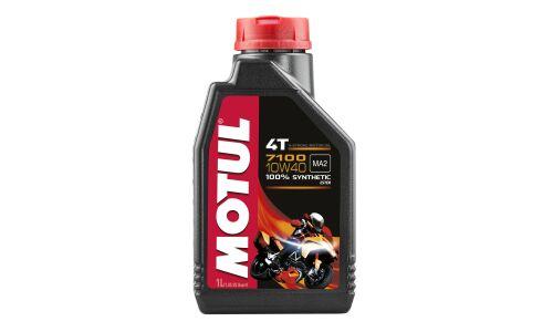Масло для мотоциклов  MOTUL 7100 4T 10W40 API SL/SJ/SH/SG синтетическое, 4-х тактное 1л