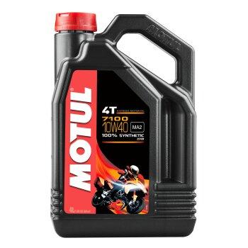 Масло для мотоциклов  MOTUL 7100 4T 10W40 API SL/SJ/SH/SG синтетическое, 4-х тактное 4л