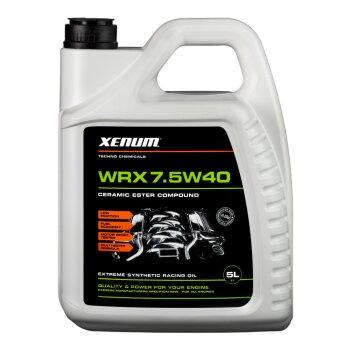 Масло моторное  Xenum WRX 7.5w40 SN/SL/CF синтетическое, универсальное  5л